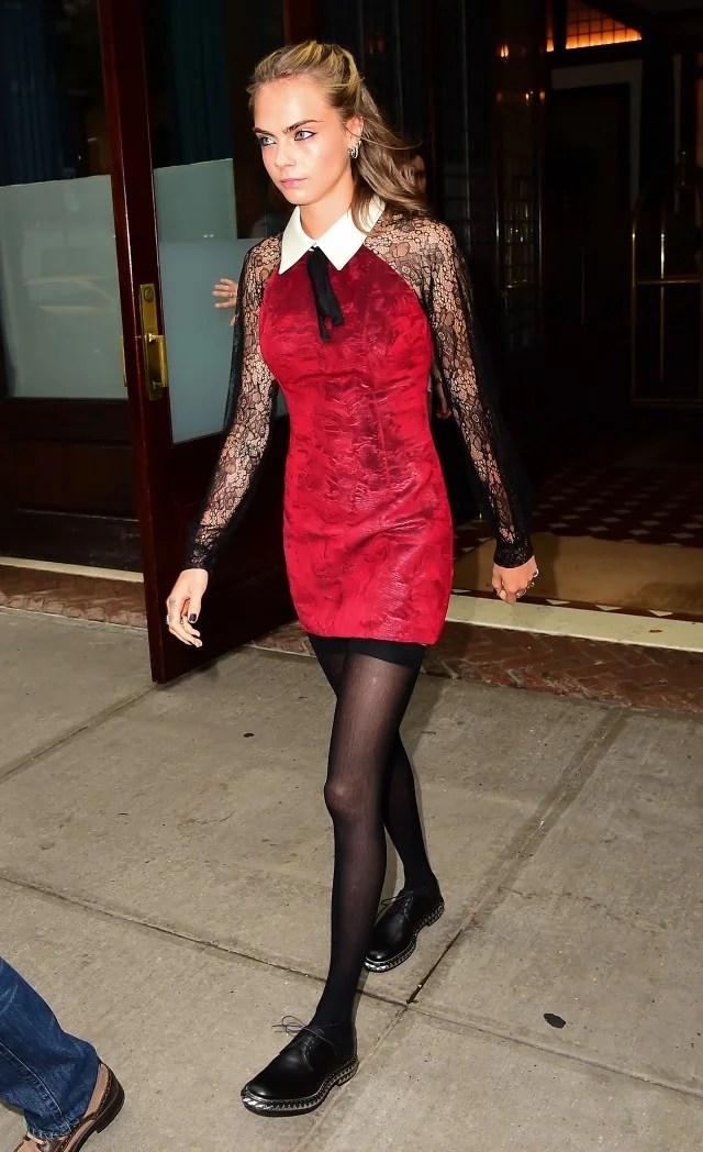 Suicide Squad Stars Margot Robbie And Cara Delevingne