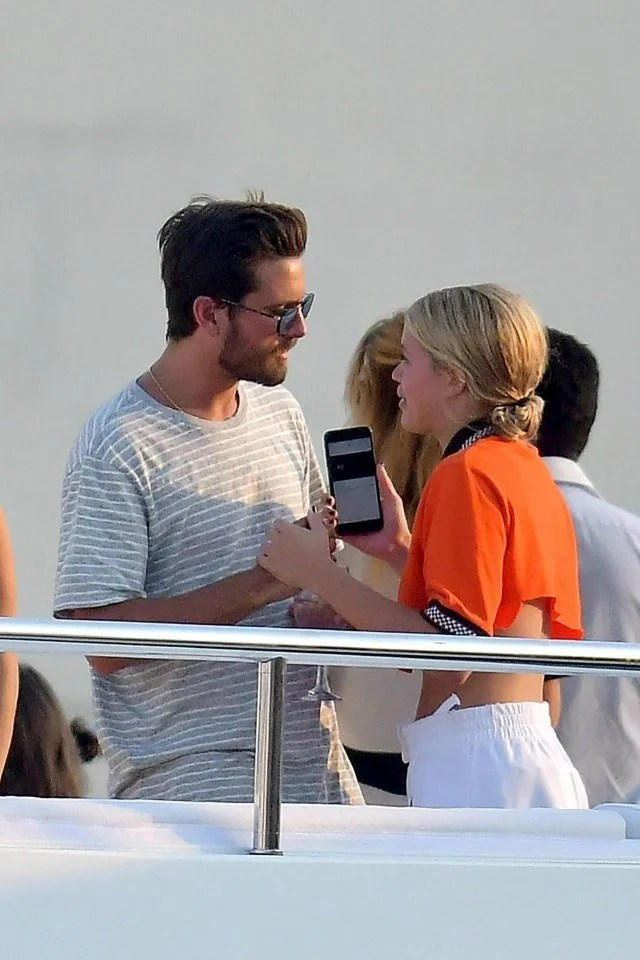 Scott Disick Gets Cozy With Sofia Richie In Cannes Two