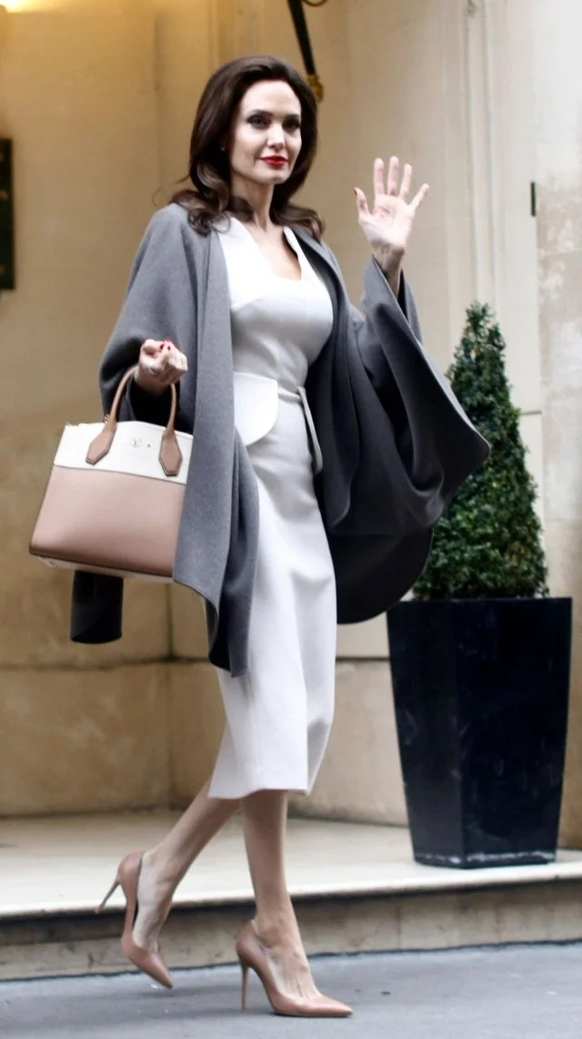 Angelina Jolie Is A Fashion Queen In Paris See Her