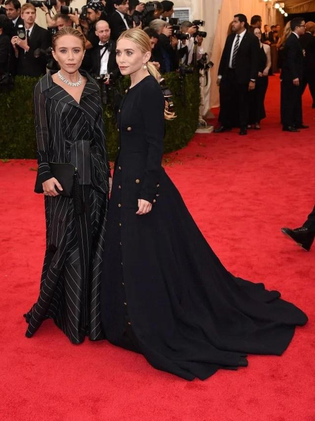 Mary-Kate and Ashley Olsen Met Gala 2014