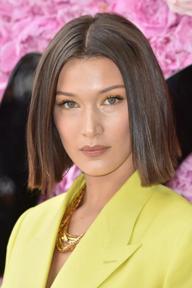 The Unexpected Eyeshadow Color Bella Hadid Is Convincing