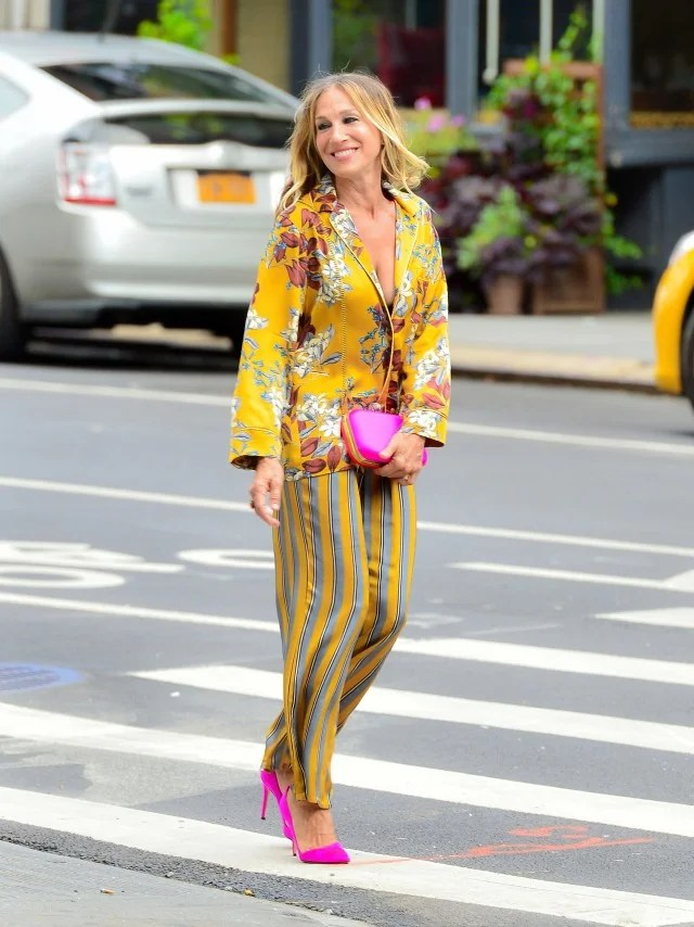 Sarah Jessica Parker Channels Carrie Bradshaw With This