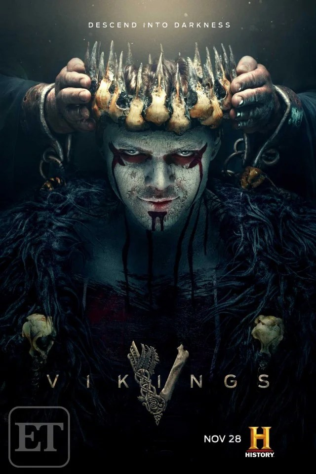 Vikings Ivar The Boneless Gets Crowned In Chilling New Season 5B Poster Exclusive