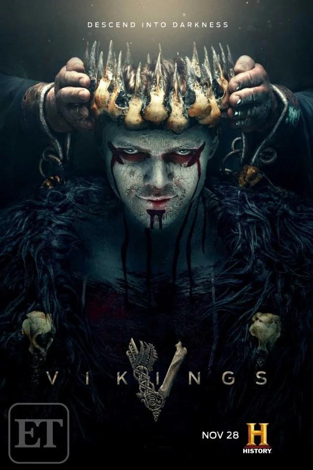 Vikings | Ivar o Desossado é coroado em novo pôster da quinta temporada