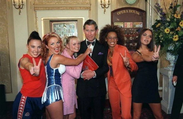 Prince Charles and Spice Girls