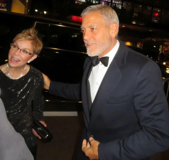 George Clooney mit seiner Mutter