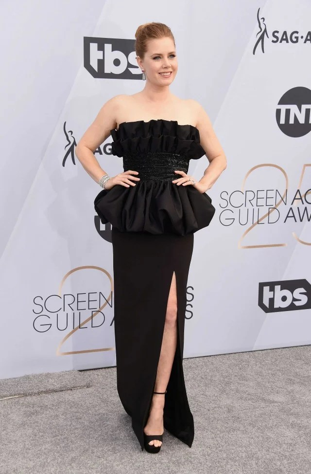 Amy Adams at the 25th Annual Screen Actors Guild Awards