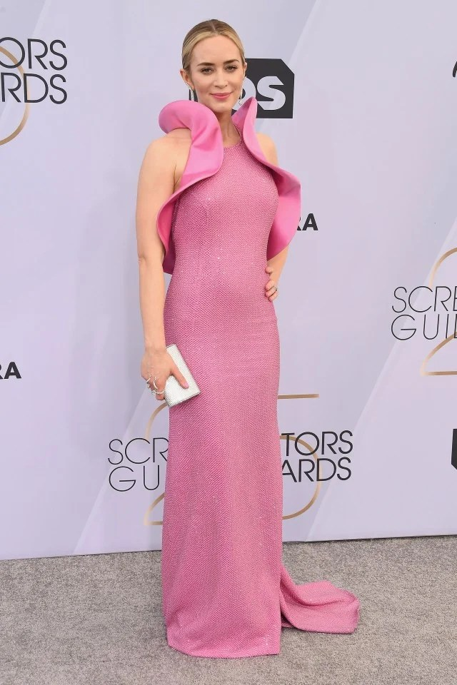Emily Blunt at the 25th Annual Screen Actors Guild Awards