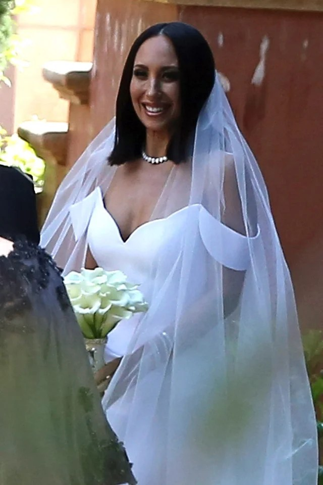 Cheryl Burke Marries Matthew Lawrence In San Diego See