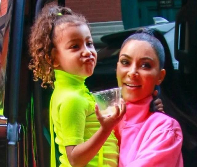 Cutest Pics Of Kim Kardashian And Kanye Wests Kids