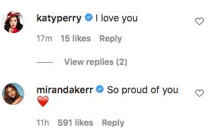 Katy perry Miranda Kerr