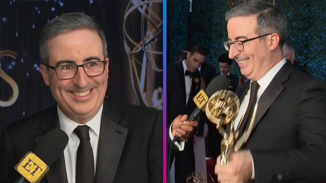 John Oliver on Winning Sixth Emmy for Variety Talk Show, Discusses His Future in Late Night (Exclusive)