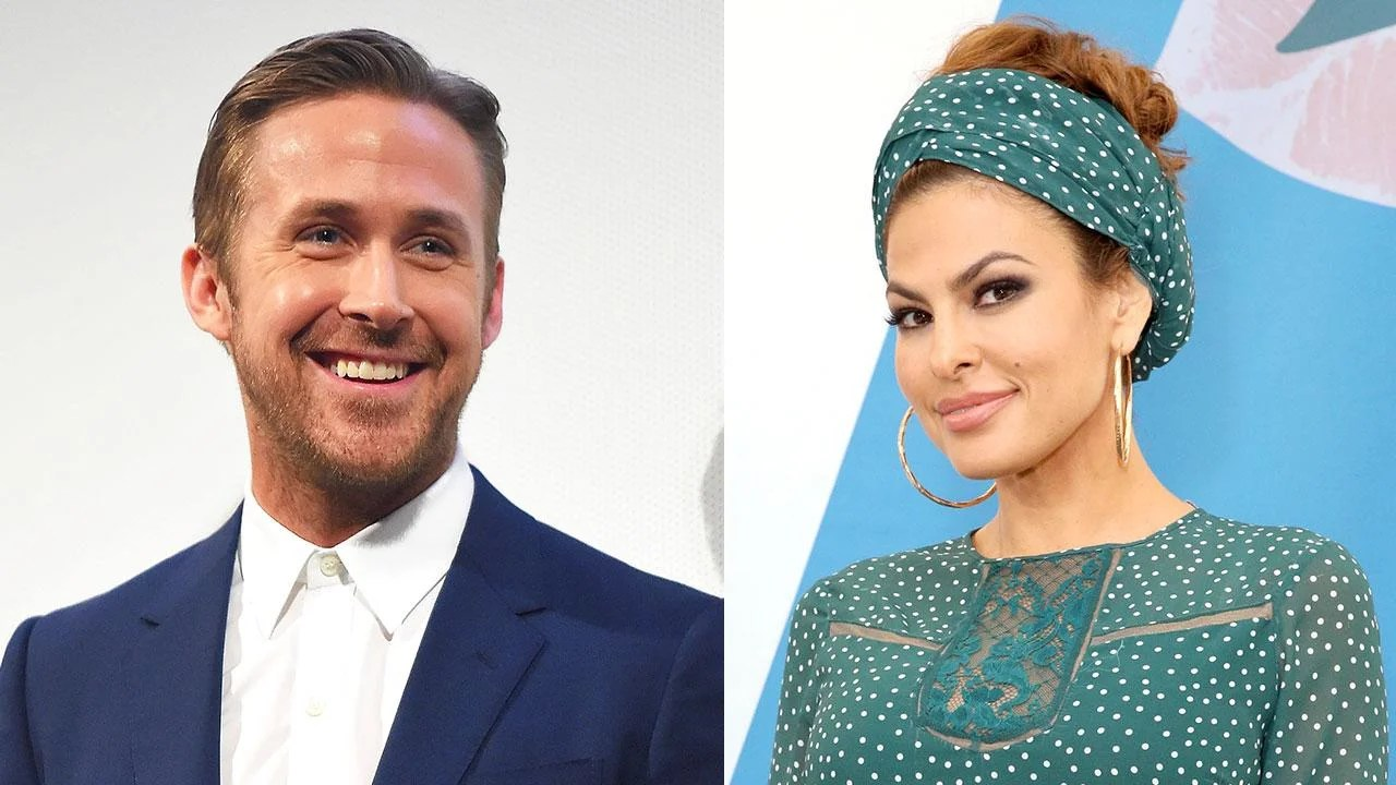 Ryan Gosling and Eva Mendes Hold Hands & Party With ...