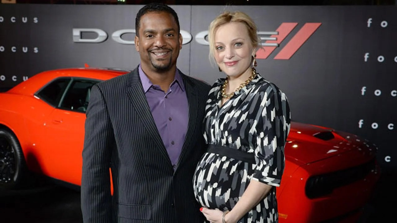 Alfonso Ribeiro Welcomes Second Child Entertainment Tonight