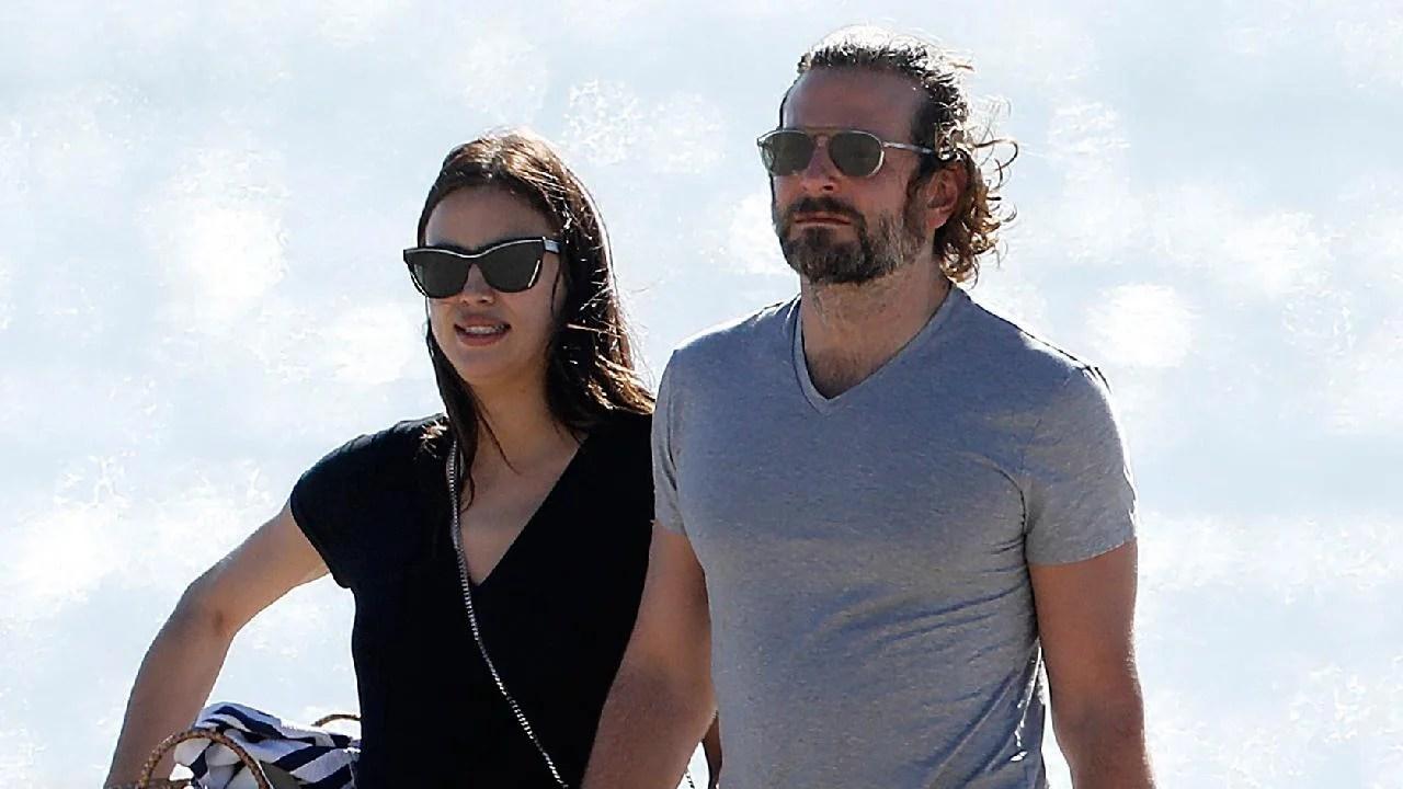 Bradley Cooper And Pregnant Irina Shayk Show PDA On