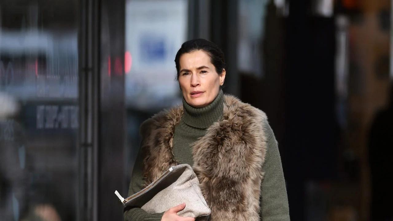 Matt Lauers Wife Annette Roque Seen Visiting Law Office