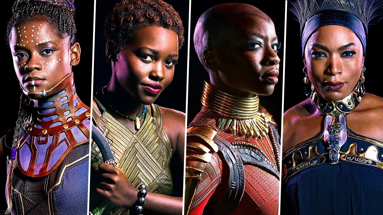 Image result for the women of black panther