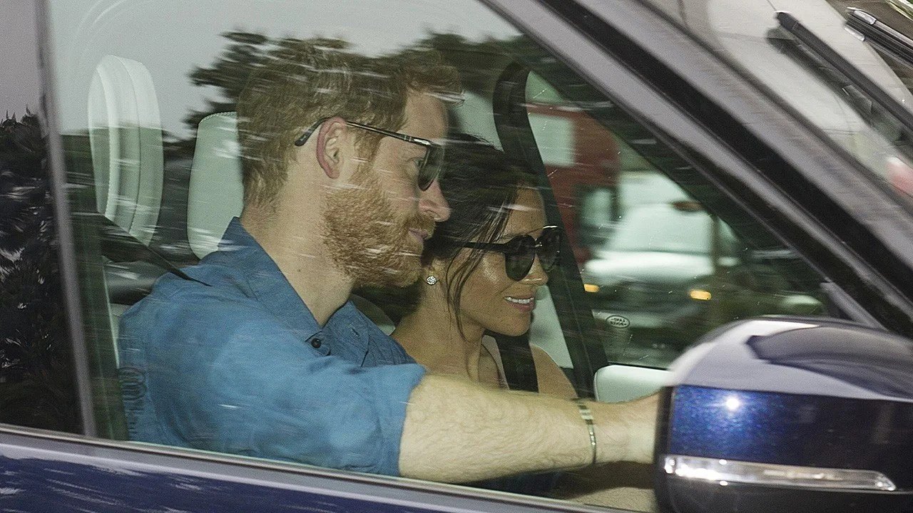 Prince Harry And Meghan Markle Are All Smiles At