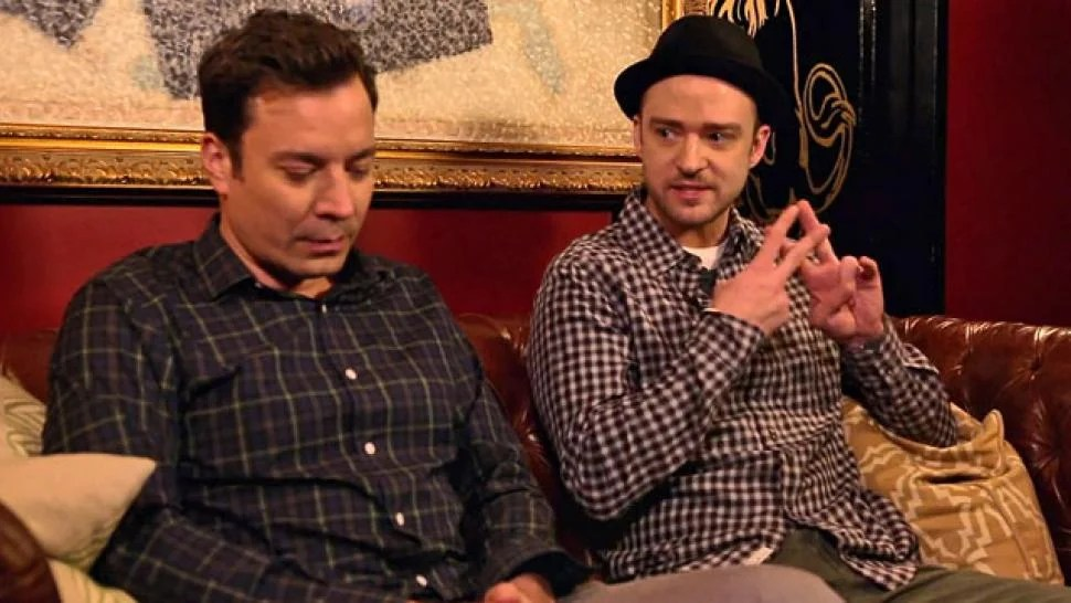 Watch: JT & Fallon Poke Fun at Hashtag Craze ...