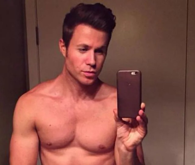 Ashley Parker Angel Grabs His Bulge For Testicular Cancer Awareness