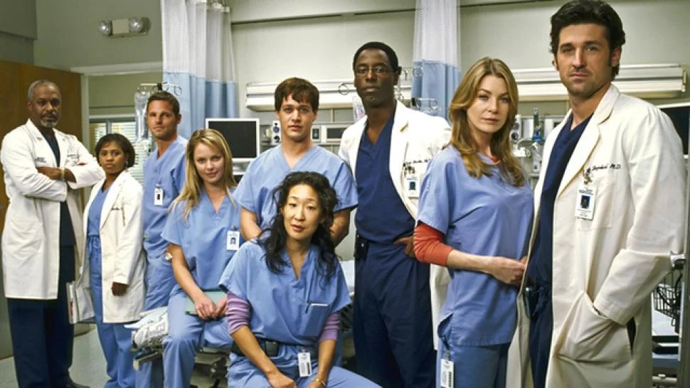 Image result for grey's anatomy original cast