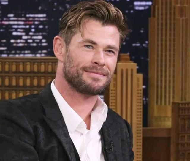 Chris Hemsworth On The Tonight Show