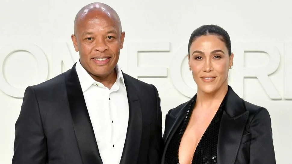 Dr Dre's wife Nicole Young files for divorce after more than 20 years of marriage.