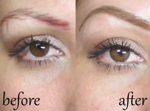 eyebrow tattoos cost pen pros cons aftercare before after permanent eyebrows makeup