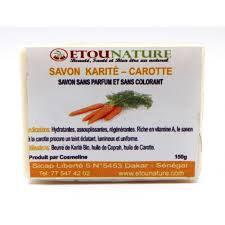 savon carotte karité