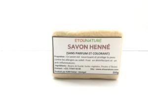 Savon Henné