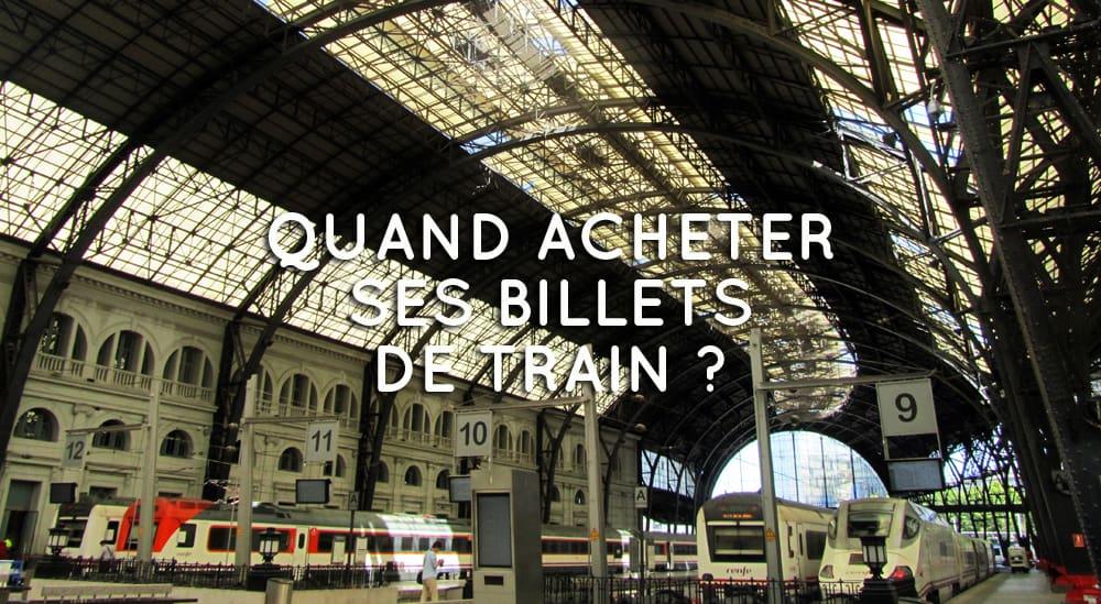 Bons plans voyage 2 quand acheter ses billets de train for Acheter des plans architecturaux