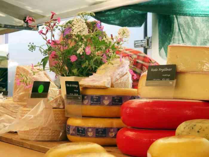 Amsterdam, Jordaan, marché de produits bio (Boerenmarkt) 2015 ©Etpourtantelletourne.fr