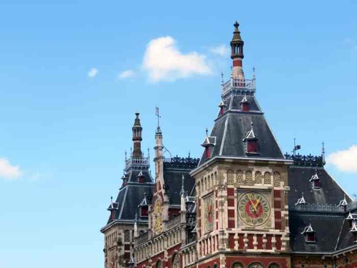 Amsterdam, station Centraal ©Etpourtantelletourne.fr 2015
