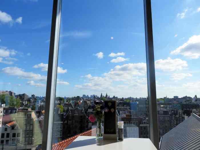 Amsterdam, vue à 360 ° au Blue Amsterdam 2015 ©Etpourtantelletourne.fr