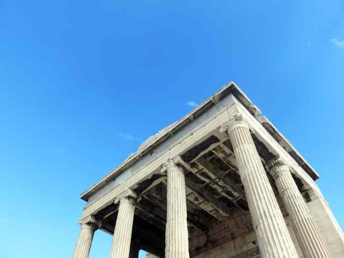 Athenes, l'Acropole, Erechtéion 2015 ©Etpourtantelletourne.fr