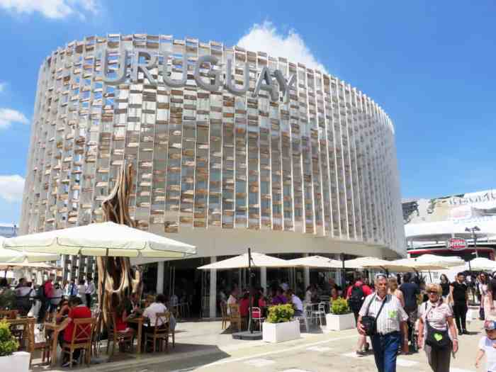 Expo Milano 2015, Pavillon Uruguay ©Etpourtantelletourne.fr