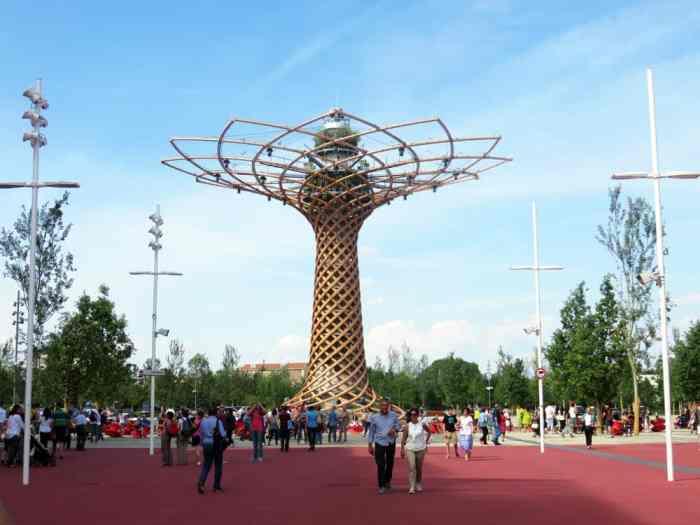 Expo Milano 2015, Tree of Life ©Etpourtantelletourne.fr