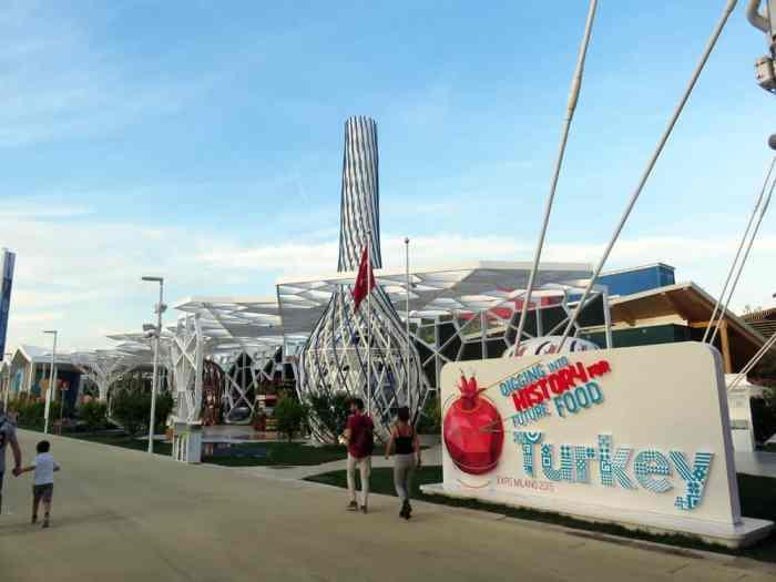 Expo Milano 2015, Pavillon Turquie ©Etpourtantelletourne.fr