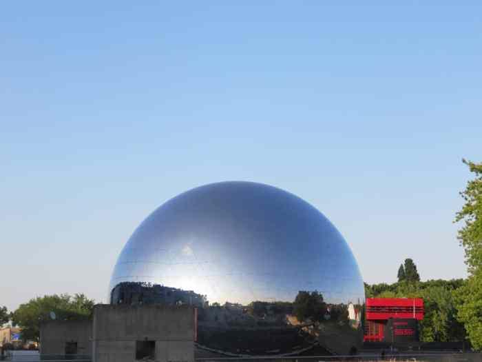 Parc de la Villette, la Géode, Paris 2015 ©Etpourtantelletourne.fr