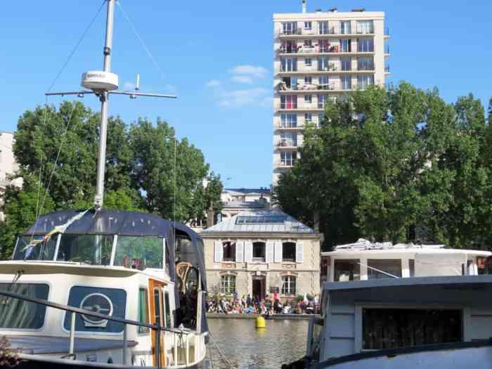 Pavillon des canaux, Bassin Villette 2015 ©Etpourtantelletourne.fr
