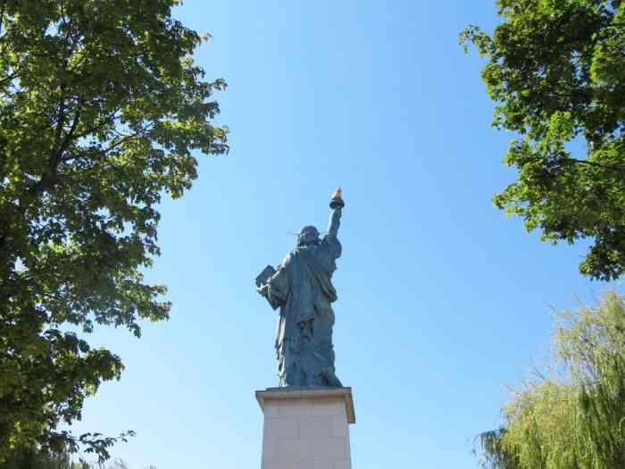 Statue de la liberté, Paris expositions universelles 2015 ©Etpourtantelletourne.fr