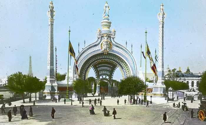 Porte Monumentale de l'Exposition universelle 1900, porte de Binet