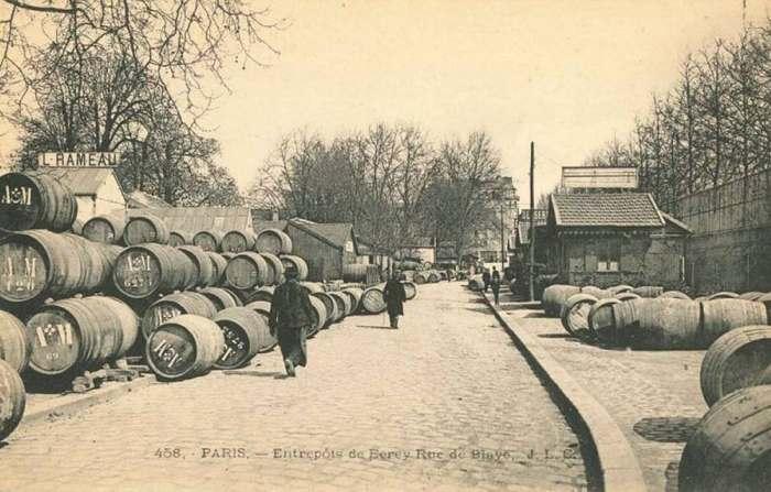 Entrepôt de Bercy 1900