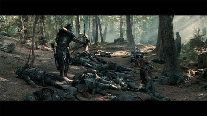 """© copie d'écran tirée du film """"Le Seigneur des anneaux : la communauté de l'anneau"""" de Peter Jackson / New Line Cinema"""