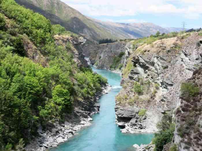 Kawarau River, Nouvelle-Zélande, Lieux tournage Seigneur des Anneaux 2016 ©Etpourtantelletourne.fr