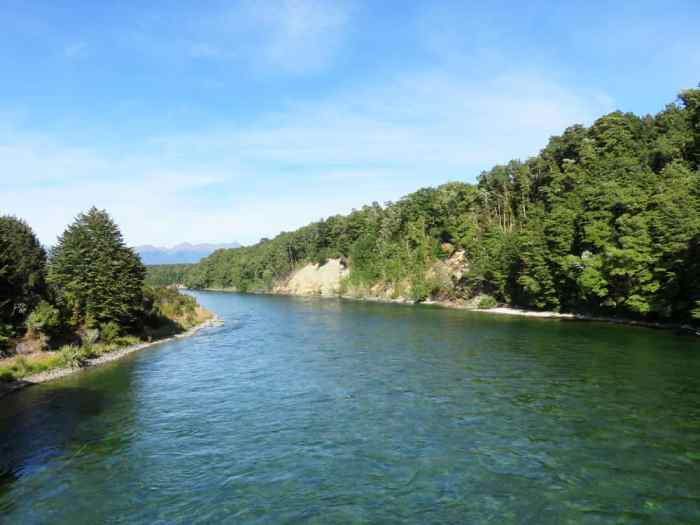 Waiau River, Nouvelle-Zélande, Lieux tournage Seigneur des Anneaux 2016 ©Etpourtantelletourne.fr