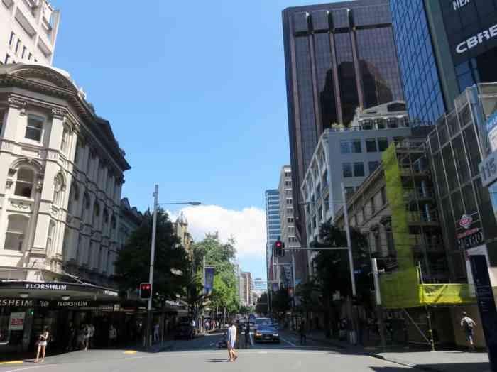Dans les rues d'Auckland Auckland 2016 ©Etpourtantelletourne.fr