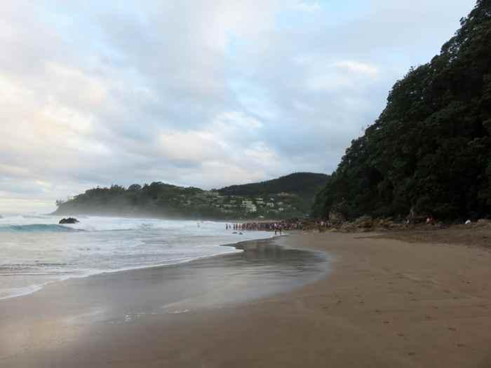 Hot Water Beach - Nouvelle-Zélande - Péninsule de Coromandel 2016 ©Etpourtantelletourne.fr