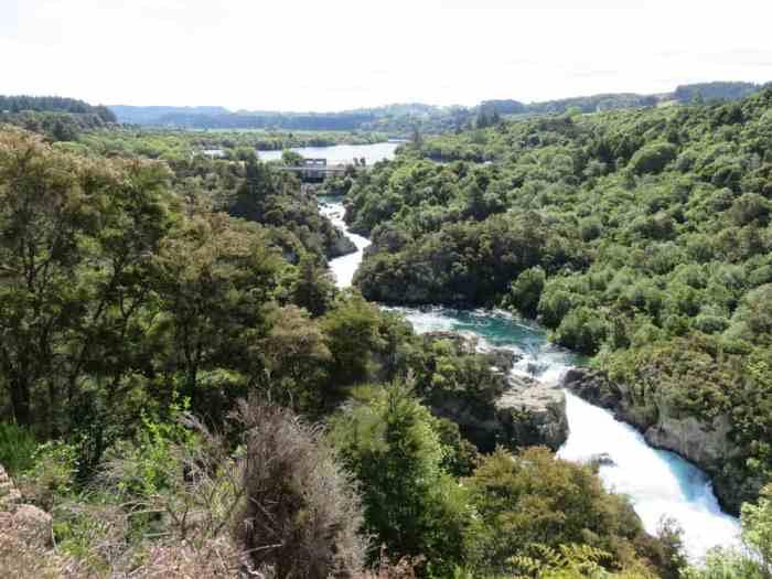 Aratiatia Rapids Nouvelle-Zélande 2016 ©Etpourtantelletourne.fr
