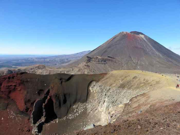 Tongariro Alpine Crossing, Nouvelle Zélande, Mont Ngauruhoe, Red Crater 2016 ©Etpourtantelletourne.fr